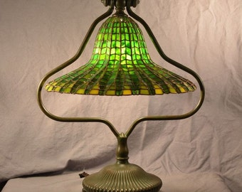 stained glass lamp shade etsy. Black Bedroom Furniture Sets. Home Design Ideas