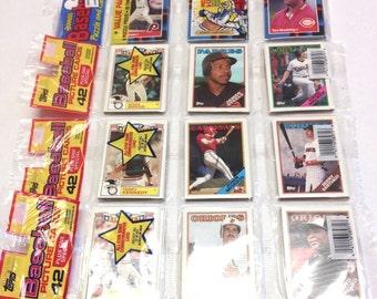 Vintage Topps 1988 Baseball Cards Donruss NIP 174 Total Cards