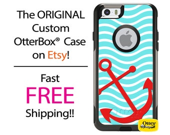 iPhone OtterBox Commuter Case for iPhone 7, 7 Plus, 6/6s, 6 Plus/6s Plus, 5/5s/SE, 5c Galaxy S7 S6 S5 Note 5 Custom Anchor Sea Phone Case
