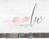 photography logos newborn logos - logo with a baby - photography logos and watermarks - logos for photographers - prop logo designs