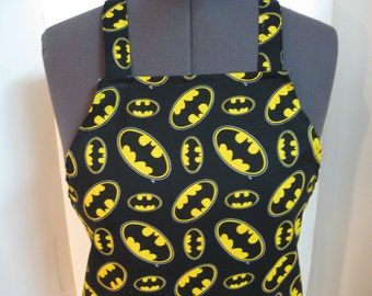 Batman Super Hero Symbol Adult Apron