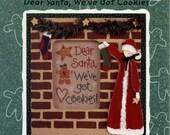Lizzie Kate: Dear Santa, We've got Cookies - a Snippet Cross Stitch Pattern
