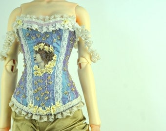 Lady of the Golden Flowers BJD Art Line Corset for Soom Super Gem