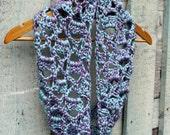 Crochet Pattern, Crochet Infinity Scarf,  Crochet Scarf Pattern, Crochet Pattern Scarf, PDF Pattern