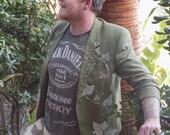 Ivy. Punk green tweed bla...