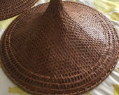 Chinese rattan hat