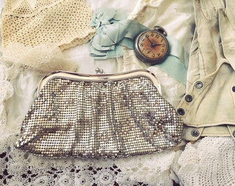 Vintage Whiting & Davis Mesh Clutch
