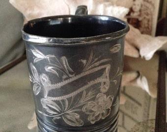 Monach Silver Co. Baby Cup