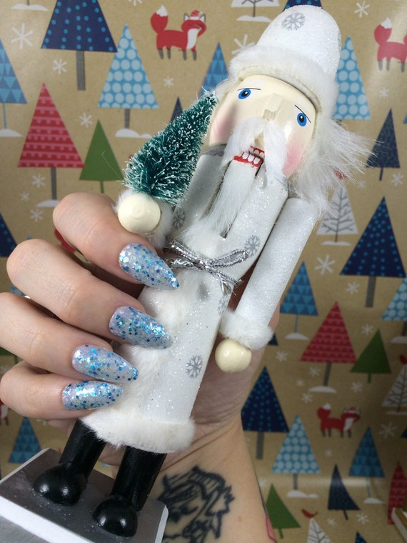 Holiday Polish Let It Snow Globe by Comet Vomit Winter Weather Inspired