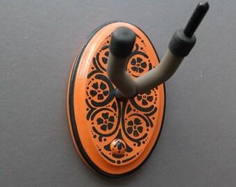 Instrument Wall Hanger Hook for Ukulele, Fiddle, Mandolin, Violin or Guitar - Ready to Ship - Art Nouveau