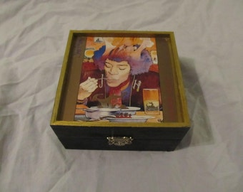 Jimi Hendrix Voodoo Soup Keepsake Music Trinket Box