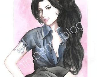 Amy Winehouse 8x10 Print