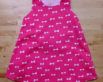 Japanese Cotton Fabric Sleeveless Dress For girls aged 2 Years old - 3 Years old.