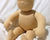 16 inch waldorf doll body blank all natural