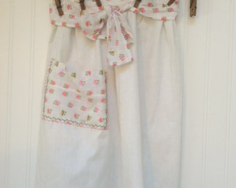 Country Apron Vintage Hand Made