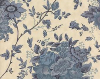 New Blue Barn Prints, Biscuit 42270-14, Laundry Basket Quilts of Moda Fabrics,