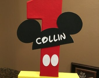 Mickey Mouse Club Custom Name Letters - price is per number