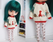 Red Riding Hood two-piece set for Middie Blythe