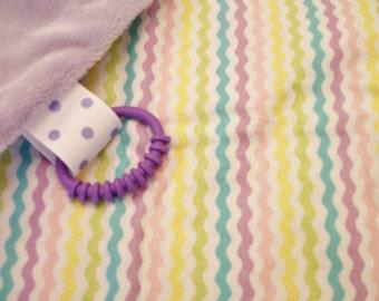 Lovey, comfort blanket, snuggle blankie, comfort minky