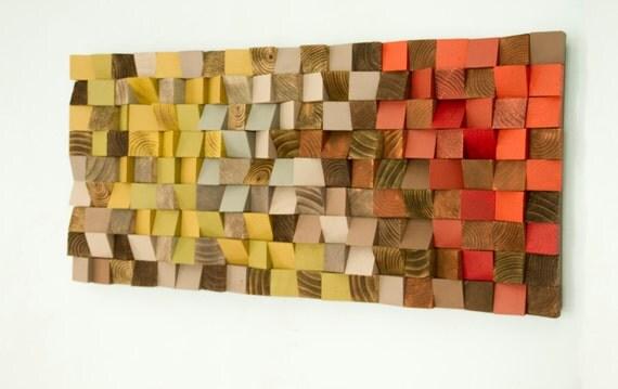 Wall Art Wood reclaimed wood art wood wall art industrial decor fire