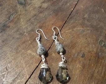 Grey Mist Earrings