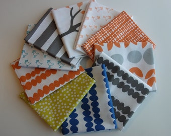Bella by Lotta Jansdotter for Windham Fabrics - Fat Quarter Bundle of 10