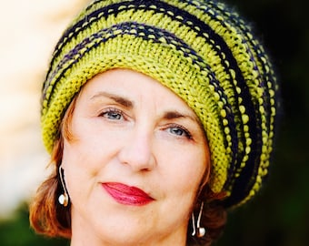 Hand Knit Slouchy Hat