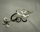BS11 silver  BS12 brass shawl pin