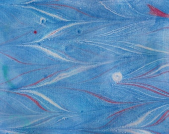 """Original Painting - 5"""" x 7"""" - Abstract - Multicolored India Ink Painting - 2016-5"""