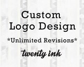 Custom Logo Design - Free Business Card - Unlimited Revisions