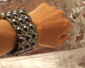 stretchy cuff bracelet