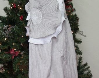 Great costume dress in gray and white - Price Reduced!