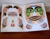 Cut & Make Masks North American Indian Mask Book