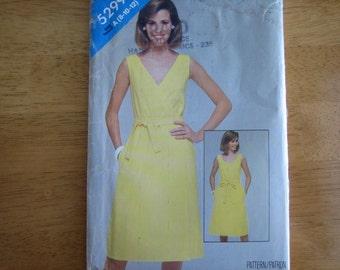 See & SEw Pattern 5299 Misses' Dress   1970's   Uncut