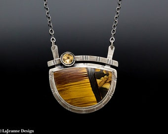 Golden Opportunity - Marra Mamba Sterling Silver Necklace