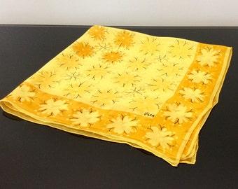 Early Vera Neumann Scarf  - Flowers