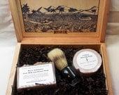 Drakkar Cigar Box Deluxe Shave/Shaving Set Kit - Perdomo