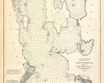 Lake Champlain – 1874