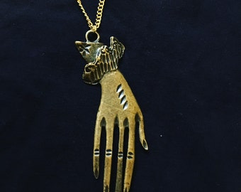 Long Hand Necklace