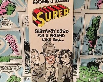 Super Friend Birthday