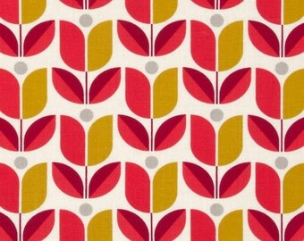 54036 - Joel Dewberry Flora collection PWJD104  Tulip in Poppy color - 1 yard