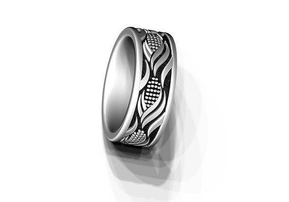 Wedding ring Corn ring made in Sterling Silver