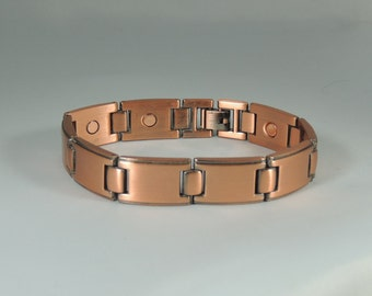 Large Link Copper Magnetic Bracelet