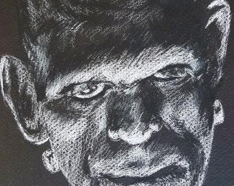 Frankensteins Monster - #31DaysofHalloween
