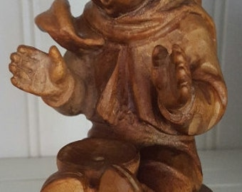 Handcarved Wooden Angel from Germany
