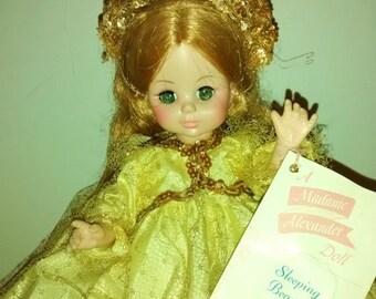 Valentine SALE Madame Alexander Sleeping Beauty Doll 13 inch Vintage