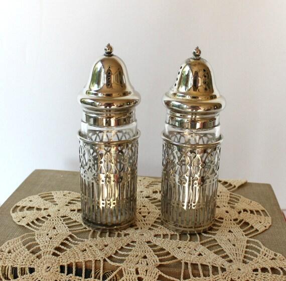 Vintage Silver Plate Salt And Pepper By Vintagesouthernpicks