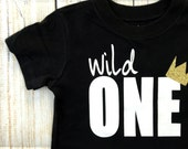Wild One onesie® or shirt / Birthday Shirt / Wile One Shirt / Where the wild things are shirt Top /sibling shirt, family photos