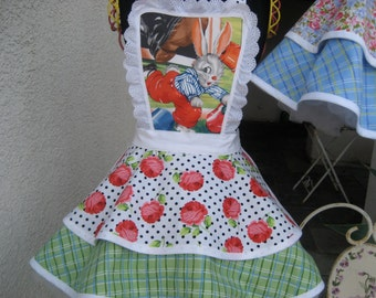 Bunny Tales Children's  Hostess Apron