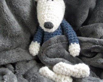 Marco - a hand crocheted polar bear!